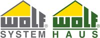 Wolf system wolf haus logo 2004 farbe